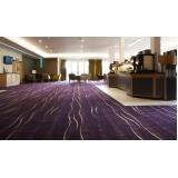 quanto custa carpete para hotéis Alphaville