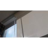 quanto custa cortina rolo com trilho deslizante Jardim Paulista