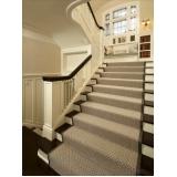 quero comprar carpete para escada Jardim Europa