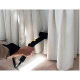 serviço de lavagem de cortinas de linho Bela Cintra