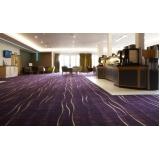 venda de carpete para hotéis Tucuruvi