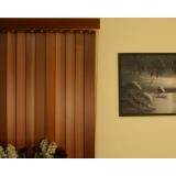 venda de persiana vertical de madeira ABCD